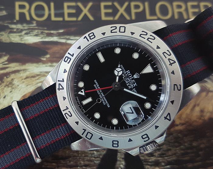 Rolex Oyster Perpetual Explorer II Men's Ref. 16570