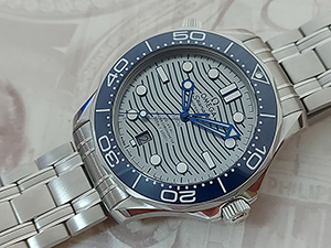 Omega Seamaster Professional Co-Axial Master Chronometer Diver Wristwatch Ref. 210.30.42.20.06.001
