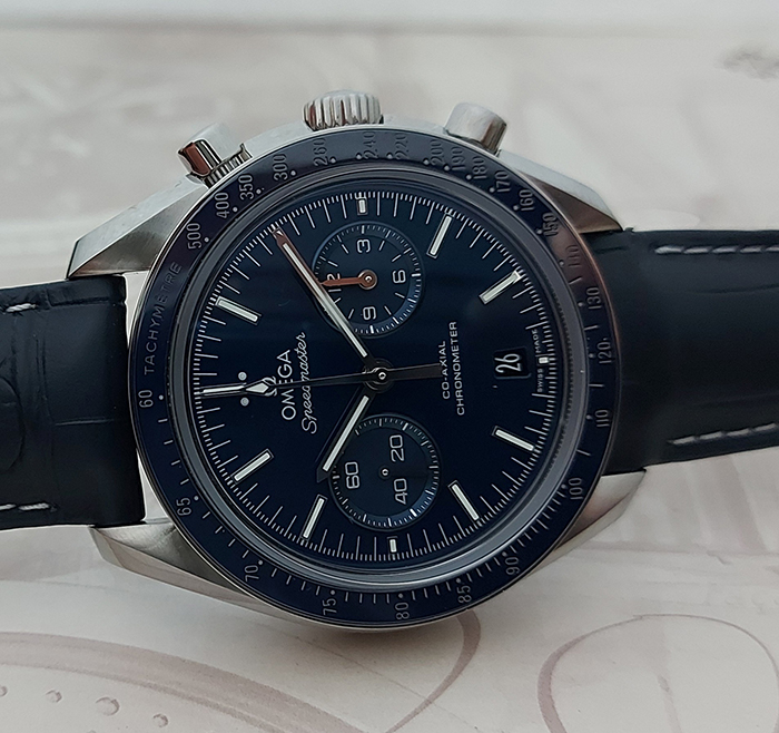 Omega Speedmaster Titanium Two Counters Moonwatch Co-Axial Wristwatch Ref. 311.93.44.51.03.001