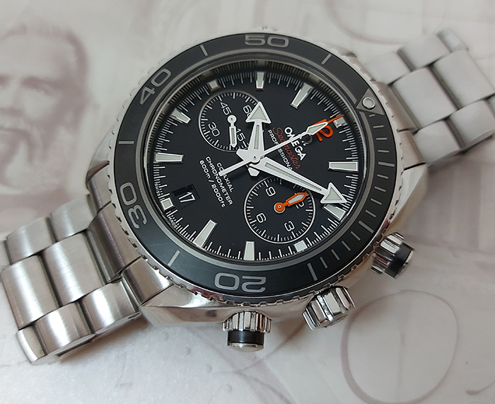 Omega Seamaster Planet Ocean 600M Co-Axial Chronograph Ref. 232.30.46.51.01.003
