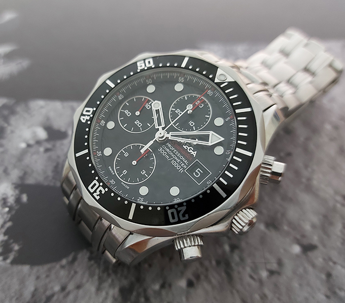 Omega Seamaster Divers Chronograph Ref 213.30.42.40.01.001