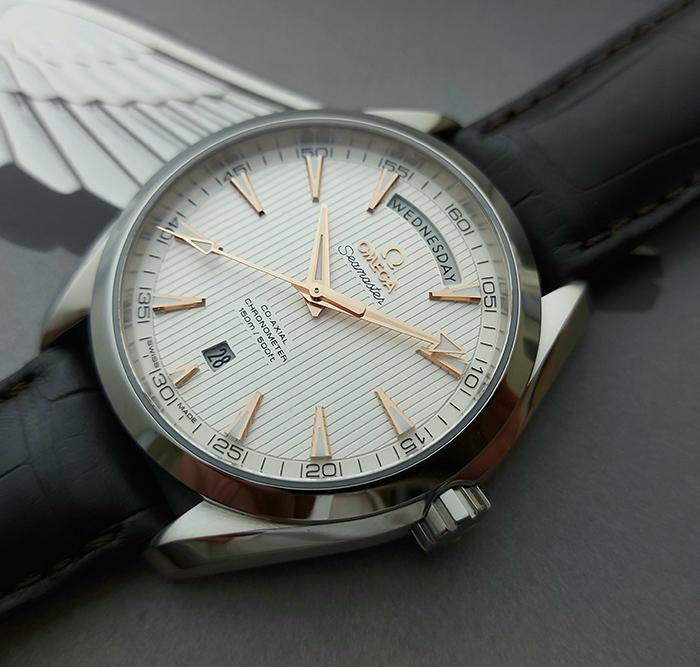 Omega Seamaster Aqua Terra 150M Co-Axial Day-Date Wristwatch Ref. 231.13.42.22.02.001