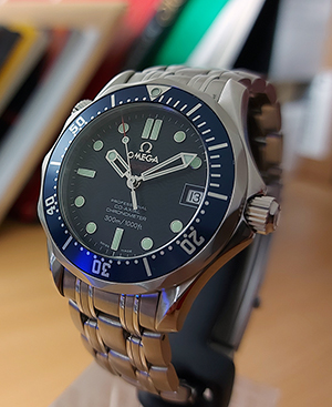 MIDSIZE Omega Seamaster Co-Axial Ref. 2222.80