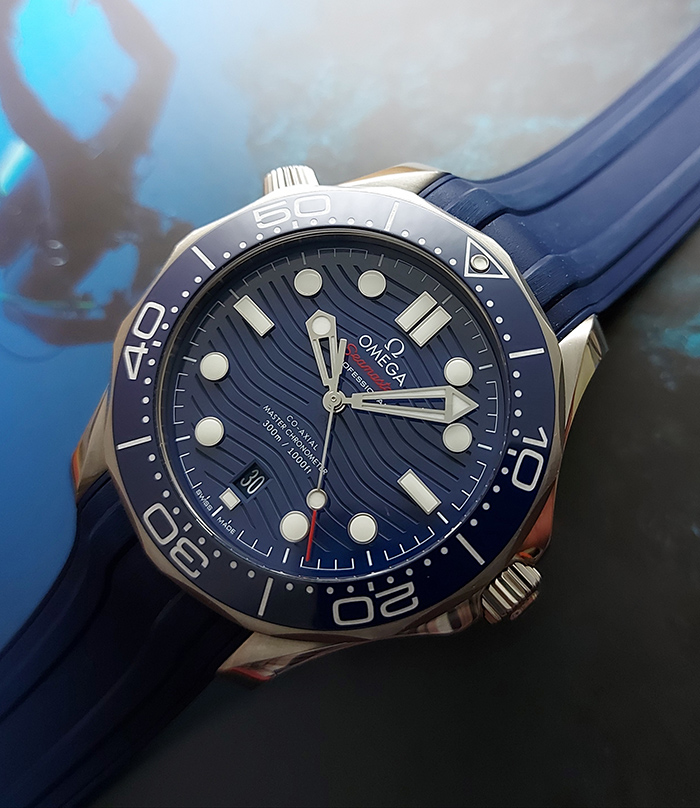 Omega Seamaster Diver 300M Co-Axial Master Chronometer Wristwatch Ref. 210.30.42.20.03.001