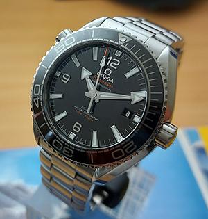 Omega Seamaster Planet Ocean Master Chronometer Wristwatch Ref. 215.30.44.21.01.001