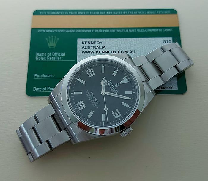Rolex Oyster Perpetual Explorer I Ref 214270