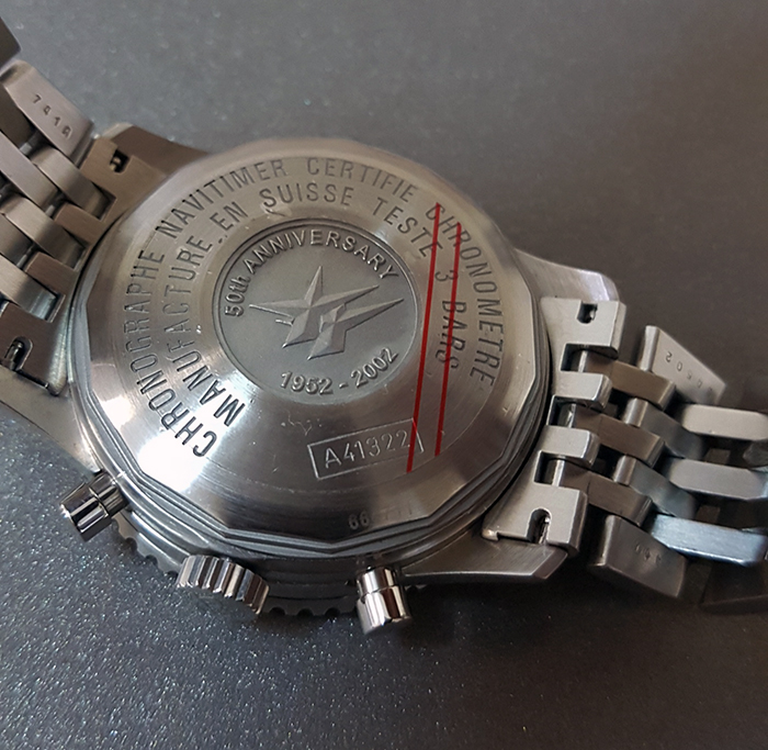 Breitling Navitimer 50th Anniversary Wristwatch Ref. A41322