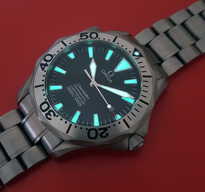 Omega Seamaster Professional Titanium 300m Ref. 2231.50