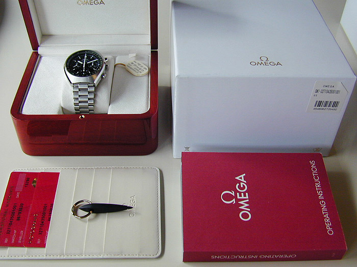 Omega Speedmaster Mark II Co-Axial Chronograph 42 x 46 mm Ref. 327.10.43.50.01.001