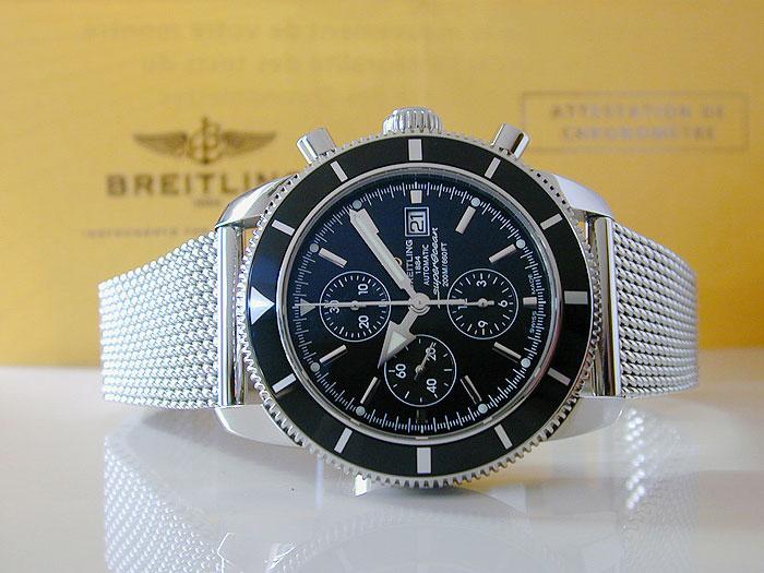 XL Breitling Superocean Heritage Wristwatch Ref. A13320