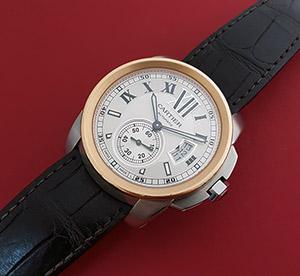 Cartier Calibre de Cartier 18K Rose Gold Wristwatch Ref. W7100011