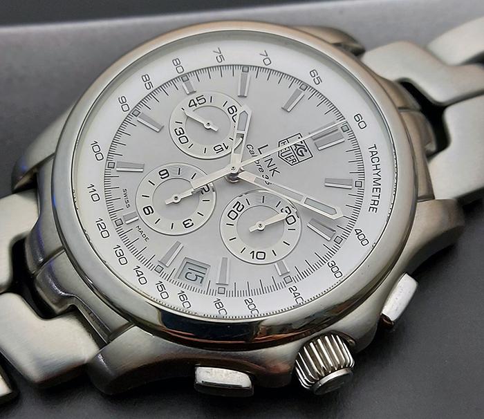 Tag Heuer Link Calibre Wristwatch 36 Ref. CT511B
