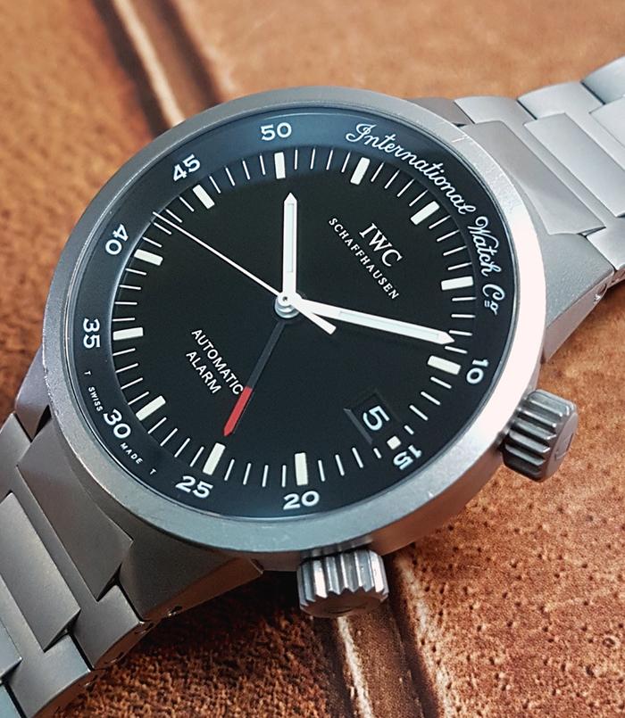 IWC Titanium Wristwatch Ref. IW353701