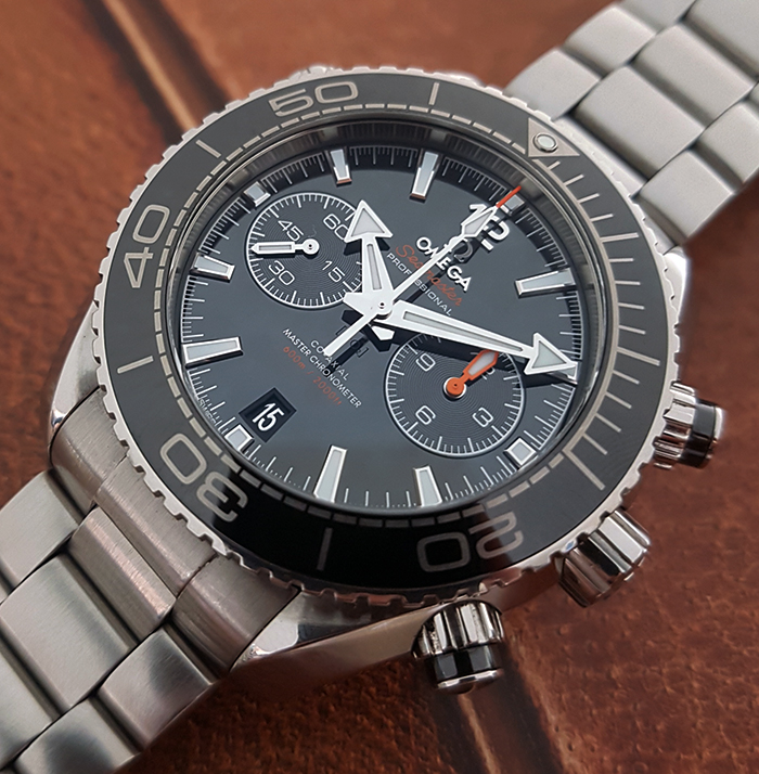 Omega Seamaster Planet Ocean Co-Axial Master Chronometer Chronograph Wristwatch Ref. 215.30.46.51.01.001