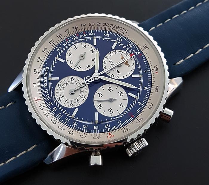 Breitling Navitimer Twin-Sixty Wristwatch Ref. A39022