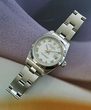 Ladies' Rolex Perpetual Date Wristwatch Ref. 79160