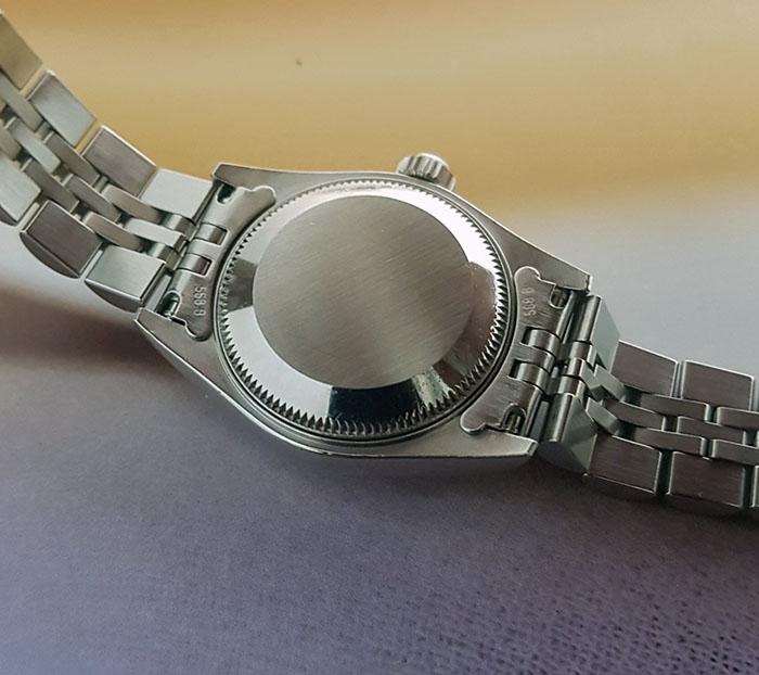 Ladies' Rolex Datejust 18K WG/SS Wristwatch Ref. 69174