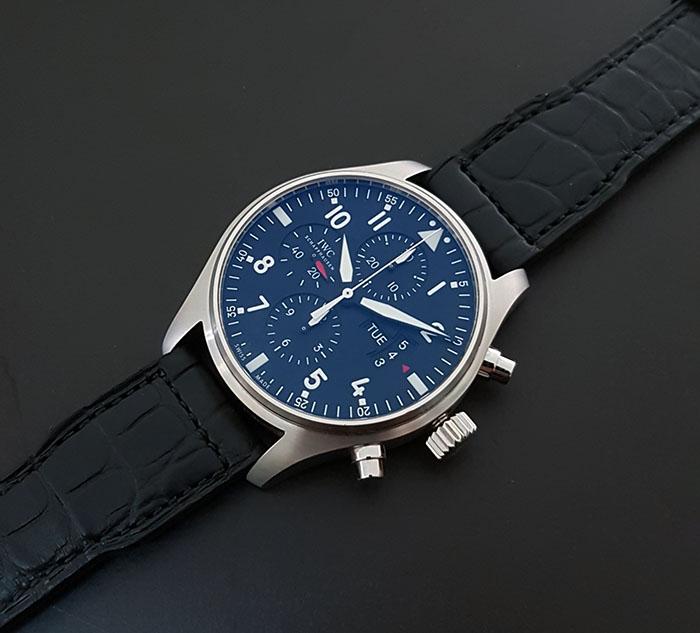 IWC Pilot's Chronograph Wristwatch Ref. IW377701