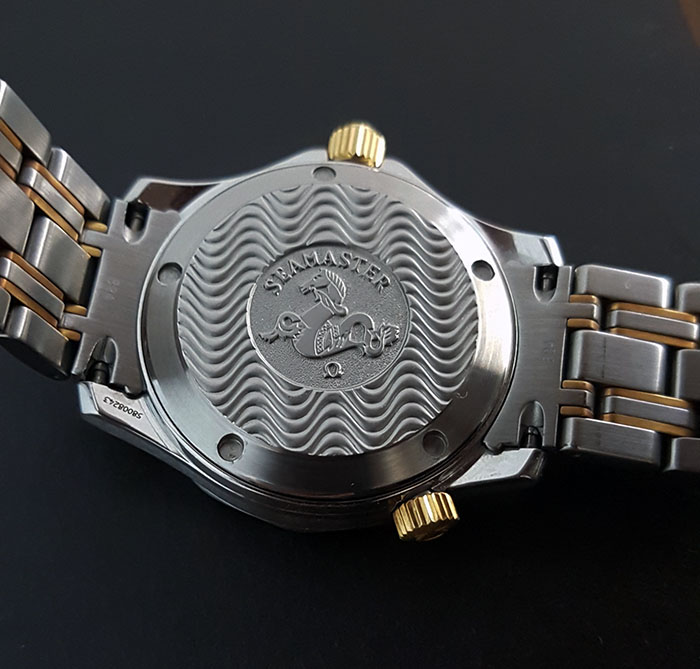 Omega Seamaster 300M YG/SS Midsize Quartz Wristwatch Ref. 2362.80.00