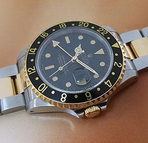 1991 Rolex GMT Master II Wristwatch Ref. 16713