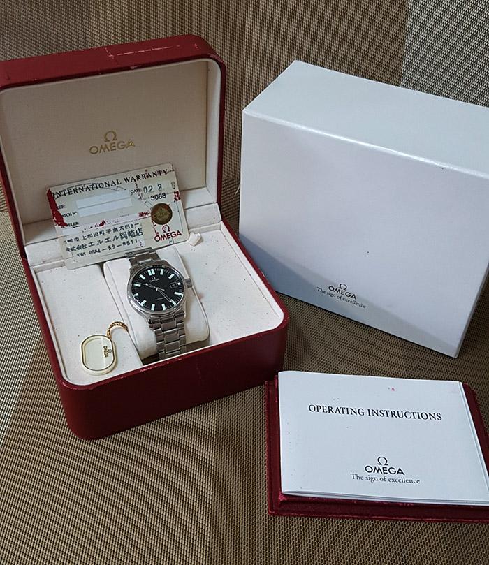 Omega Dynamic Wristwatch Ref. 5203.51