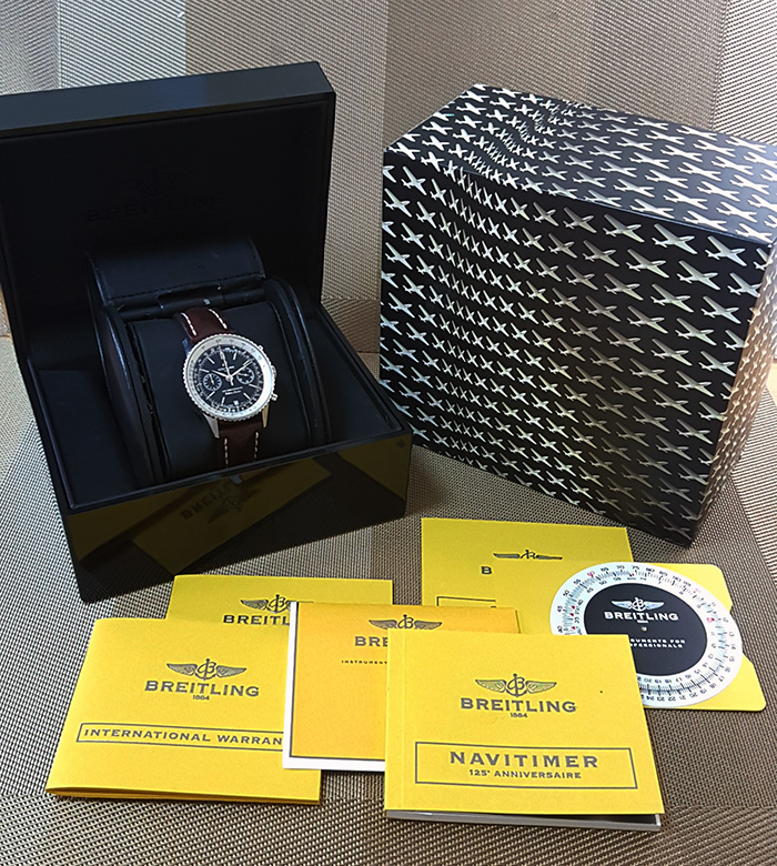 Breitling Navitimer 125th Anniversary Wristwatch Ref. A26322