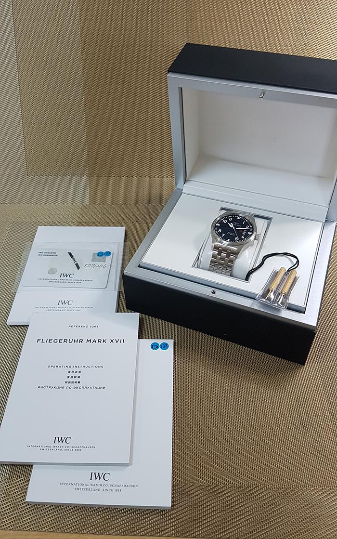 IWC Pilots Mark XVII Automatic Fliegeruhr Wristwatch Ref. IW326504