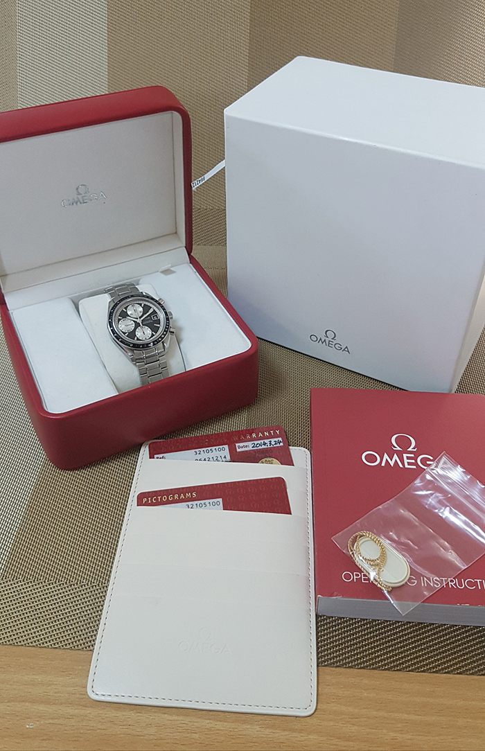 Omega Speedmaster Automatic Chronometer Wristwatch Ref. 3210.51