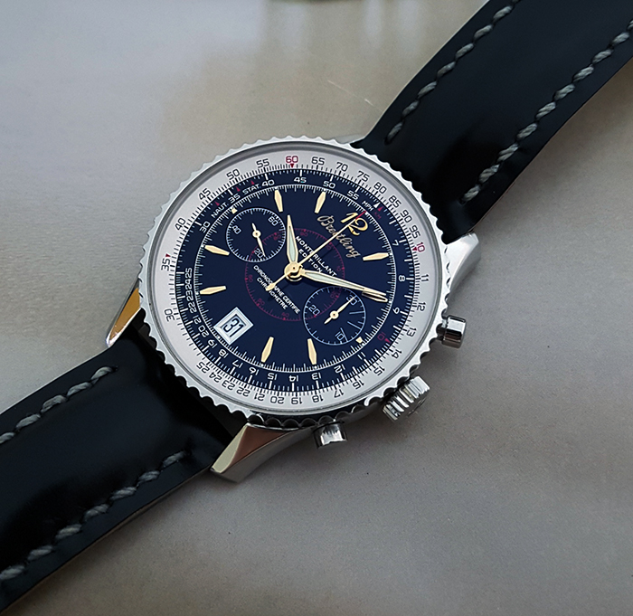 Breitling Montbrillant Edition Wristwatch Ref. A48330