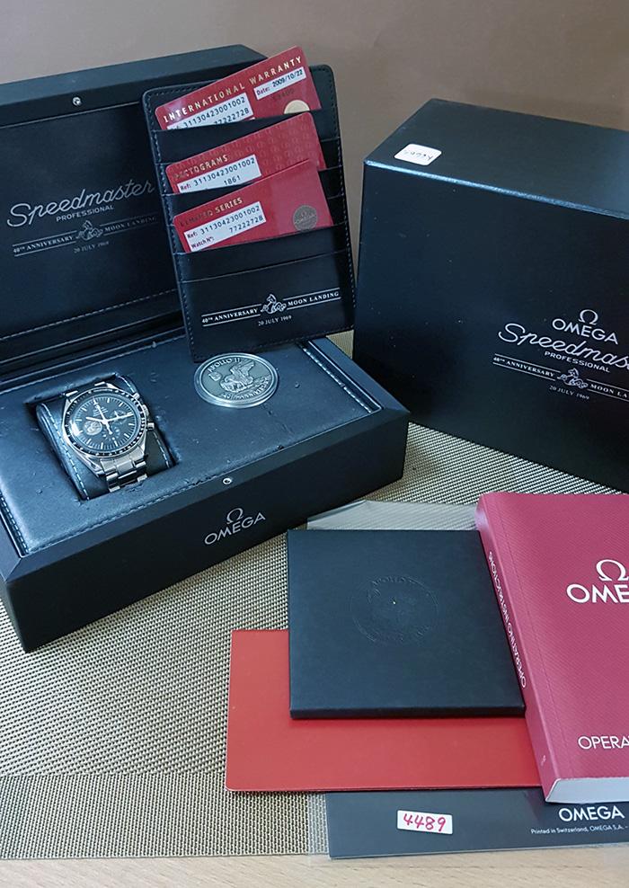 Omega Speedmaster Apollo 11 40th Anniversary Wristwatch Ref. 311.30.42.30.01.002