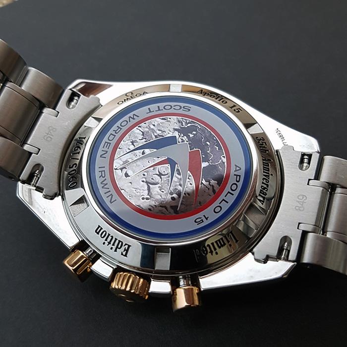 Omega Speedmaster Apollo 15 RG/SS Wristwatch Ref. 3366.51