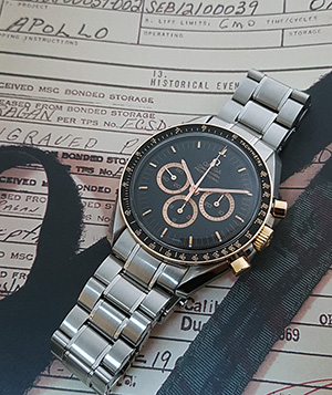 Omega Speedmaster Apollo 15 RG/SS Wristwatch Ref. 3366.51