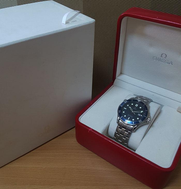 Omega Seamaster Professional 300M Quartz Wristwatch Ref. 2221.80