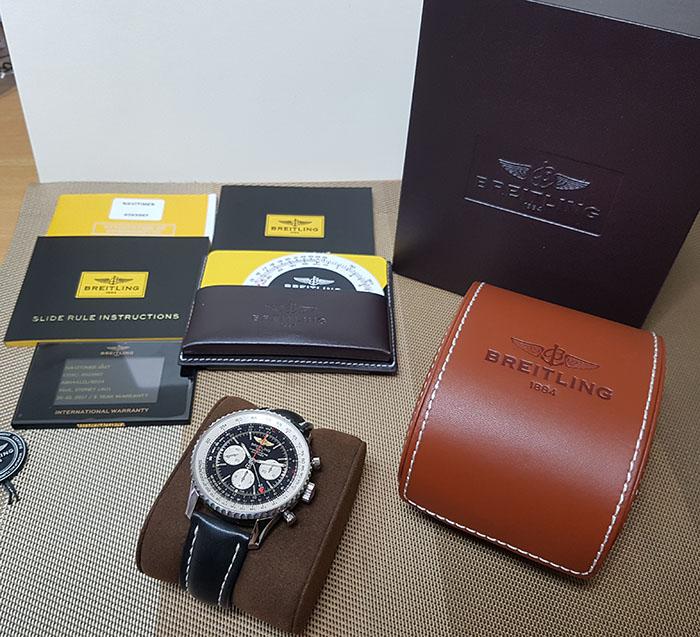 Breitling Navitimer B04 Chronograph GMT 48 Wristwatch Ref. AB044121