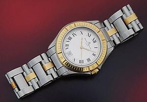 Unisex Baume & Mercier YG & SS Wristwatch
