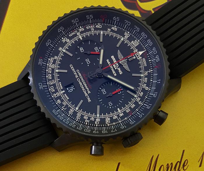 Breitling Navitimer 01 Blacksteel Wristwatch Ref. MB0128