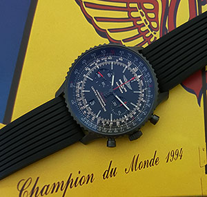 Breitling Navitimer 01 Blacksteel Wristwatch Ref. MB0128