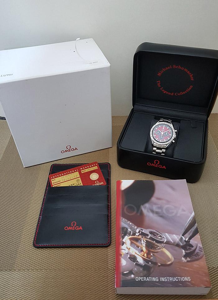 Omega Speedmaster Michael Schumacher Wristwatch Ref. 3506.61