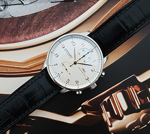 IWC Portugieser Chronograph Wristwatch Ref. IW371445