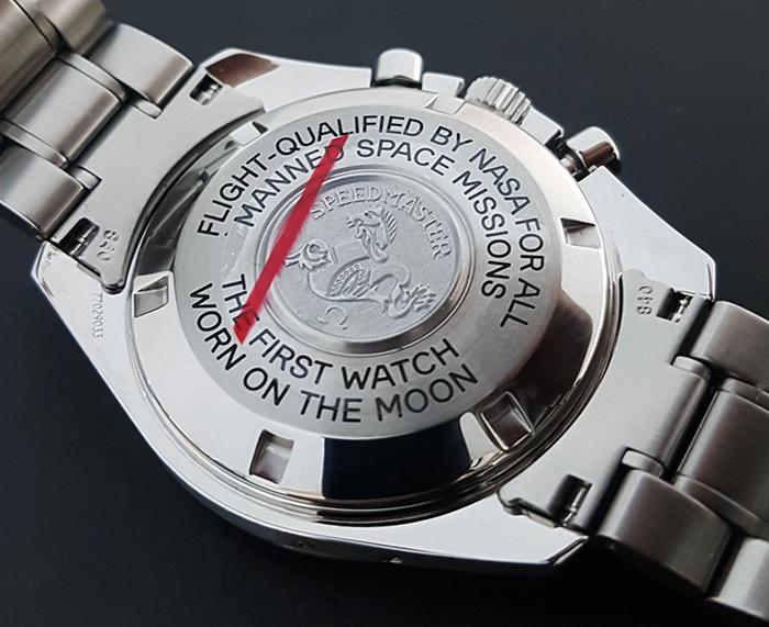 1995 Omega Speedmaster Professional Moonphase 18K WG Wristwatch Ref. 3575.20