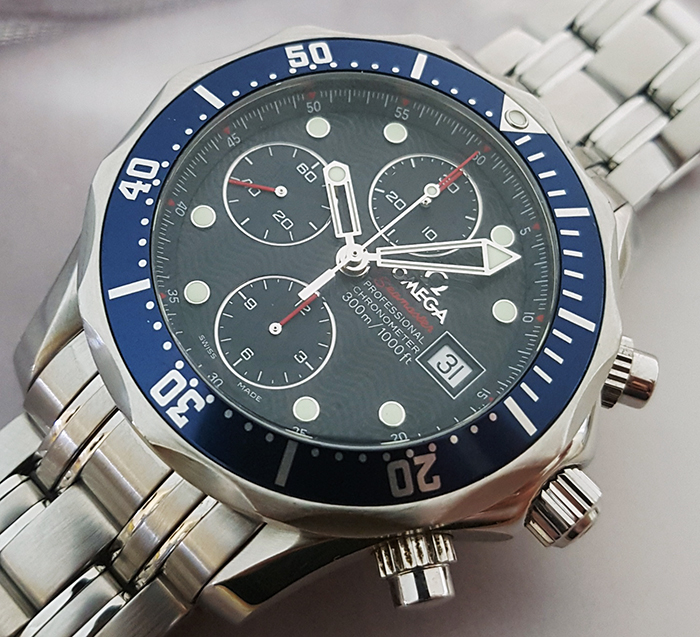Omega Seamaster Diver 300M Chronograph Wristwatch Ref. 2265.80