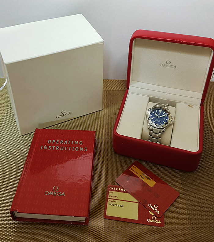 Omega Seamaster 300M Quartz Wristwatch Ref. 2265.80