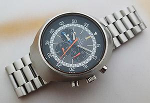 1970's Omega Flightmaster Wristwatch Ref. 145.036