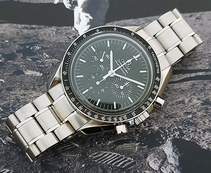 Omega Speedmaster Professional Moonwatch, Galaxy Express 999 Wristwatch Ref. 3571.50