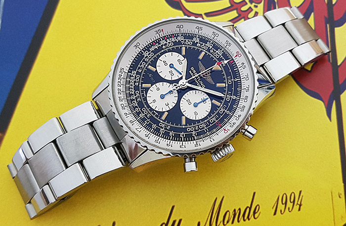 Breitling Old Navitimer Mecanique Limited Edition Wristwatch Ref A11022