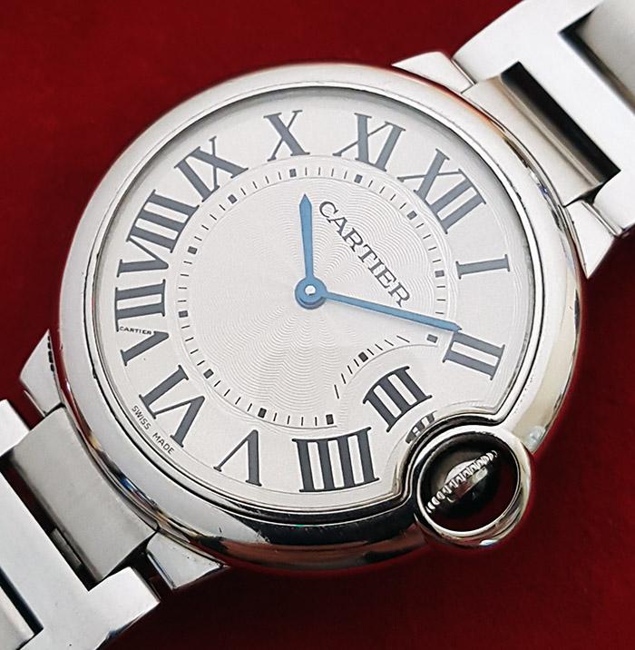 Cartier Ballon Bleu Wristwatch Ref. 195072QX