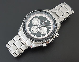 Omega Speedmaster Michael Schumacher Automatic Chronometer Wristwatch Ref. 3507.51.00