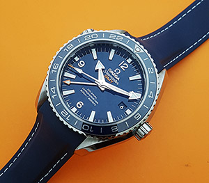 Omega Seamaster Planet Ocean 600M Co-Axial GMT Titaniam wristwatch Ref. 232.92.44.22.03.001