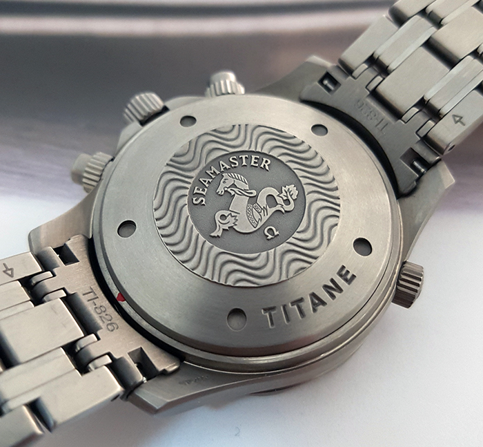 Omega Seamaster Titanium 300M Chronograph Diver Wristwatch Ref. 2298.80