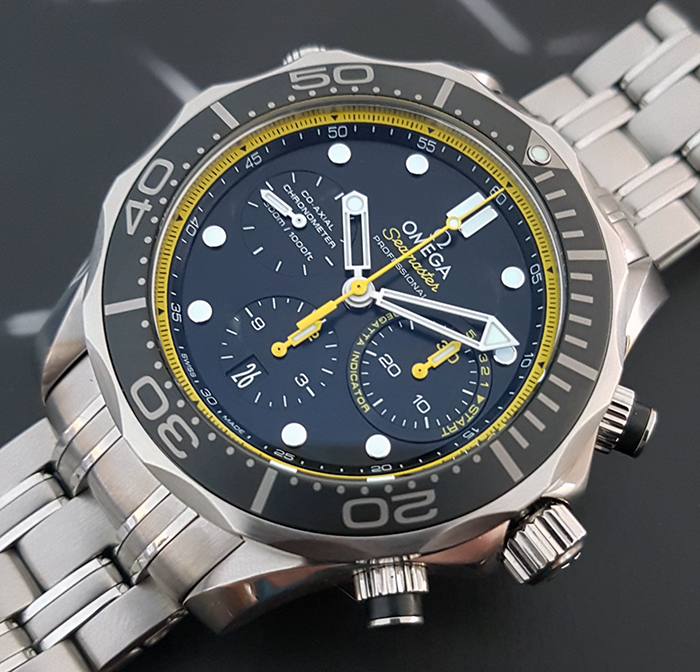 Omega Seamaster Diver 300M Co-Axial Chronograph Wristwatch Ref. 212.30.44.50.01.002